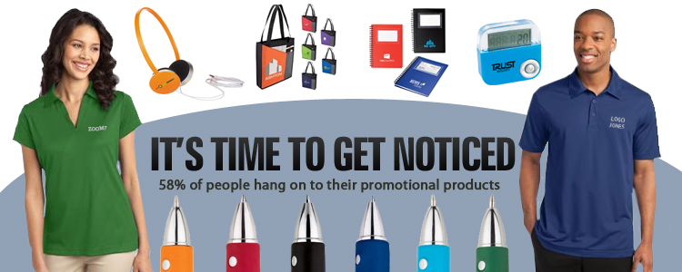 Four Main Categories for Promotional Products & Clothing: