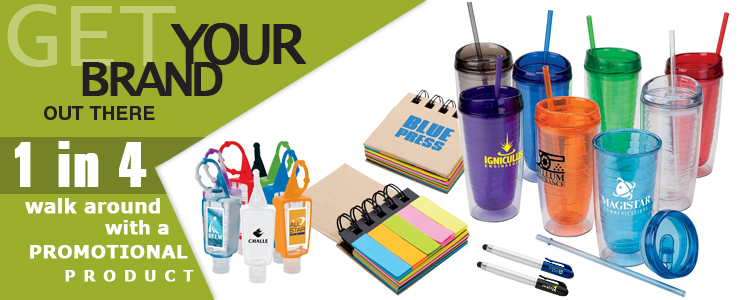 Top Five Reasons To Use Promotional Products & Clothing: