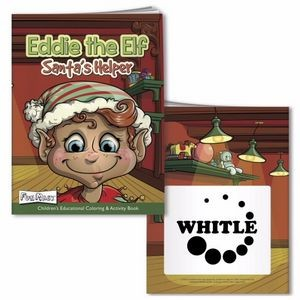 Eddy the Elf Coloring Book w / Mask