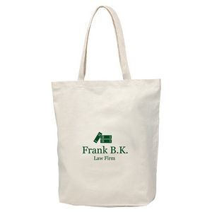 Econo Cotton Tote Bag With Gusset