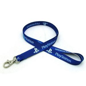 "5/8"" Digitally Sublimated Lanyard w/ Deluxe Swivel Hook"