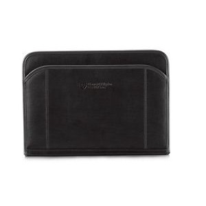 Global Leather Padfolio Black