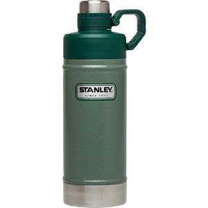 1073597eed0 Stanley® Classic Vacuum Water Bottle 18oz stainless steel green