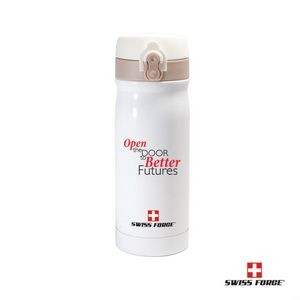 Swiss Force® Alpine Vacuum Bottle - 12oz White