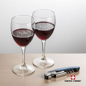 Swiss Force® Opener & 2 Carberry Wine - Blue
