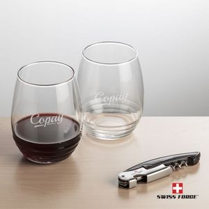 Swiss Force® Opener & 2 Ramira Wine - Black