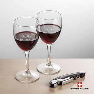 Swiss Force® Opener & 2 Carberry Wine - Black