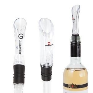 Swiss Force® Epicurean Wine Aerator - Clear