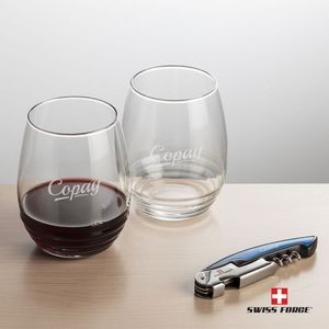 Swiss Force® Opener & 2 Ramira Wine - Blue